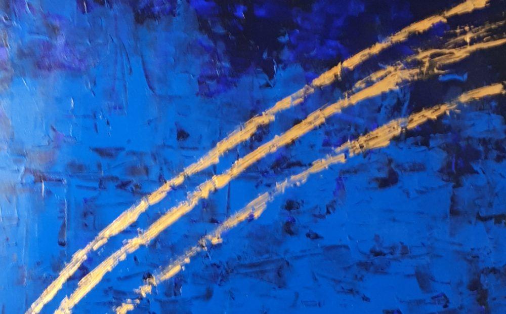 Movement on Blue